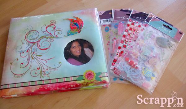 Scrapp'n a Gift – an 8×8 Scrapbook