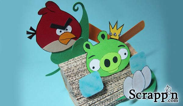 Angry Birds 3D Display