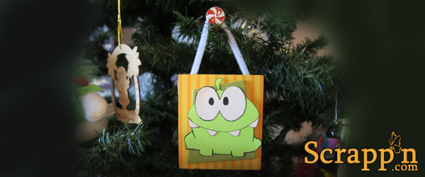 Cut the Rope Ornament