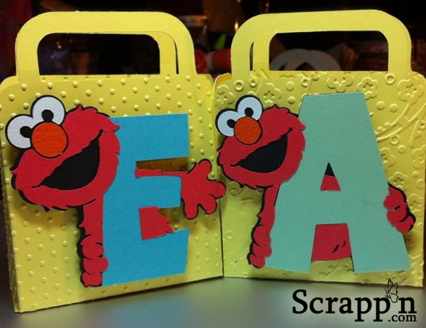 Elmo Gift Bags