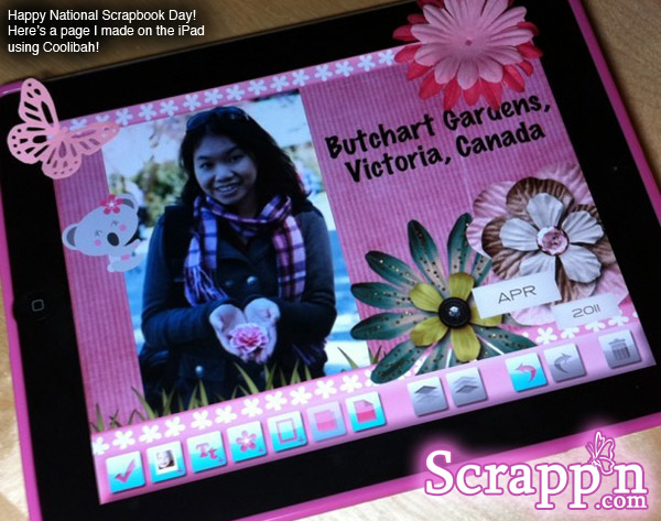 Happy National Scrapbook Day 2011!