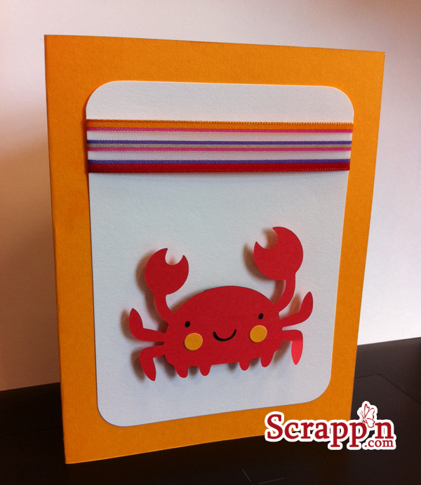 Card Project: Crabby Card