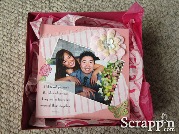Bridal Shower Scrapbook Gift