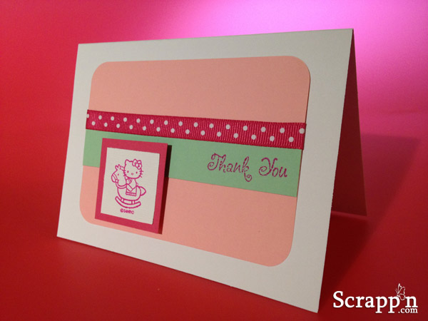 Hello Kitty Thank You Cards