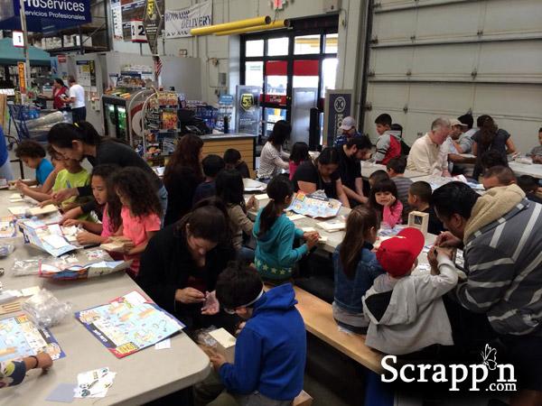 Lowe's Build and Grow Kid Workshop