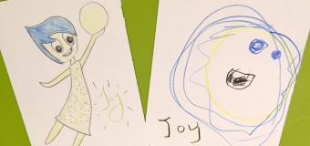 Drawing Joy from Inside Out