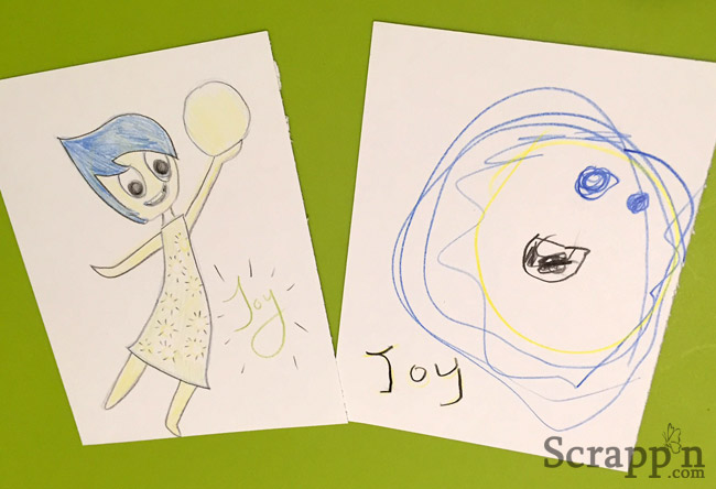 Inside Out - Drawing Joy